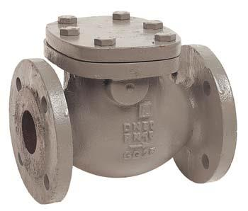 1.17-Cast iron swing check valve, flanged