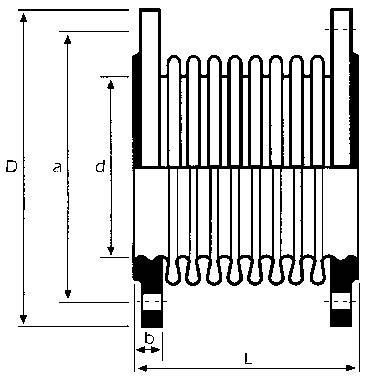 10.20-Axiális fémkompenzátor