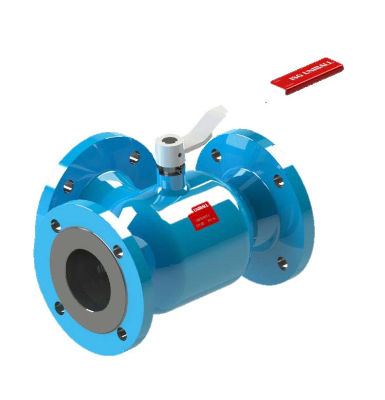7.14-ISG UNIBALL floating 3-way ball valve (UBF3)
