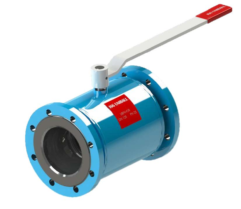 7.15-ISG UNIBALL floating, heating jacket ball valve (UBFH)