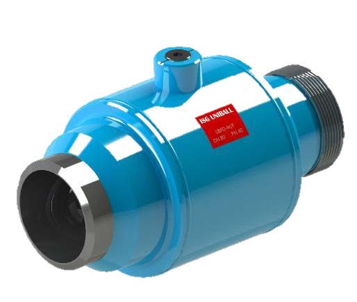 7.16-ISG UNIBALL floating drilled ball valve (UBFD)