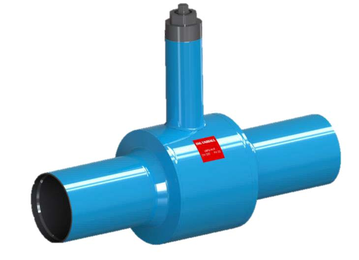 7.19-ISG UNIBALL floating ground-mounted ball valve (UBFU)