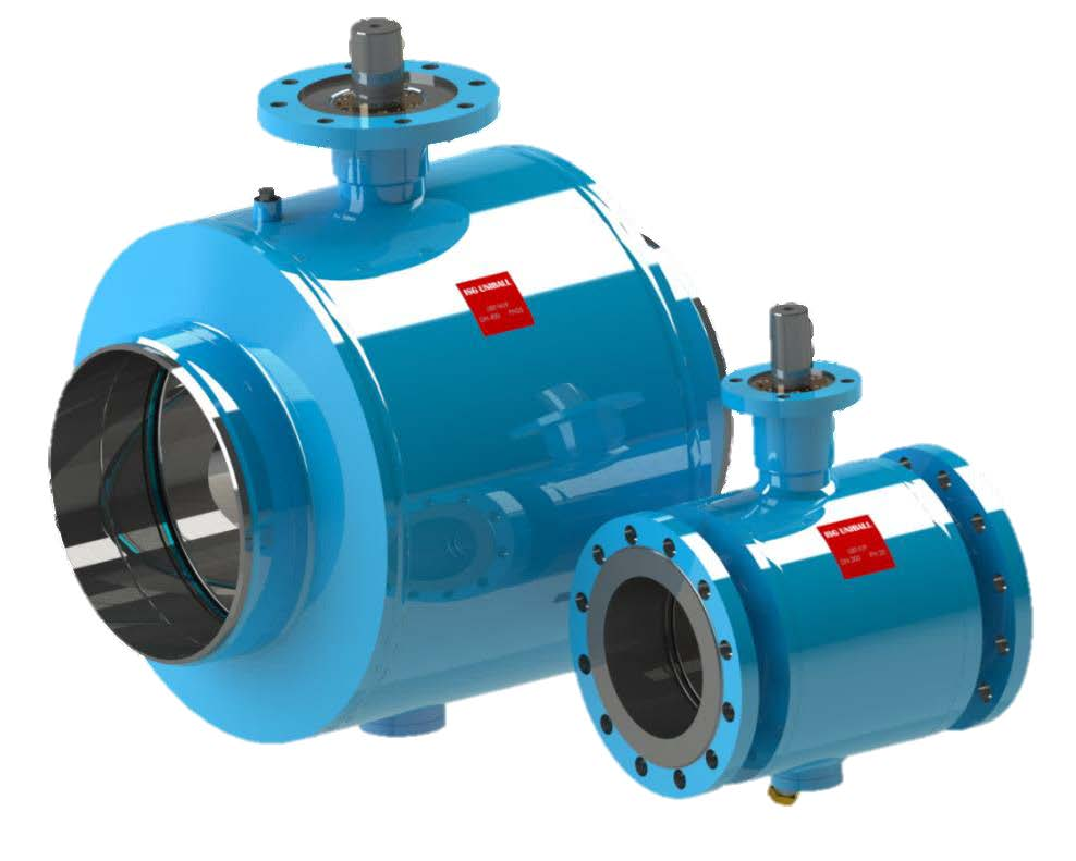7.20-ISG UNIBALL® trunnion ball valve (UBT)